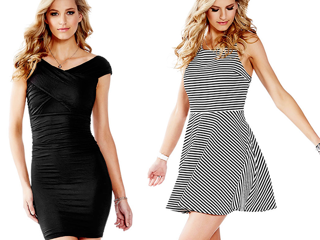 designidentity_lookbook_womens_fashion_black_stripped_dresses