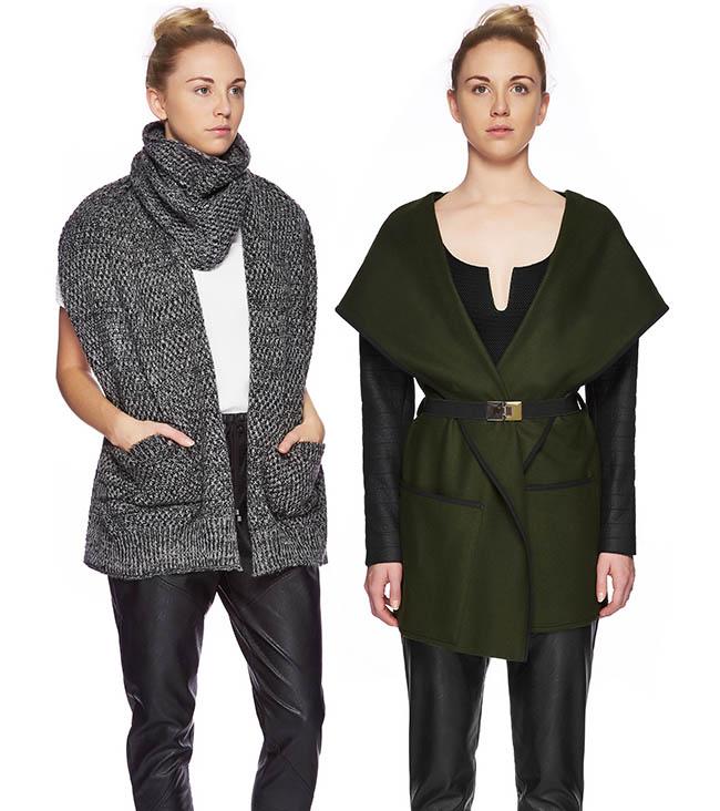 Winter Fashion Model Photography
